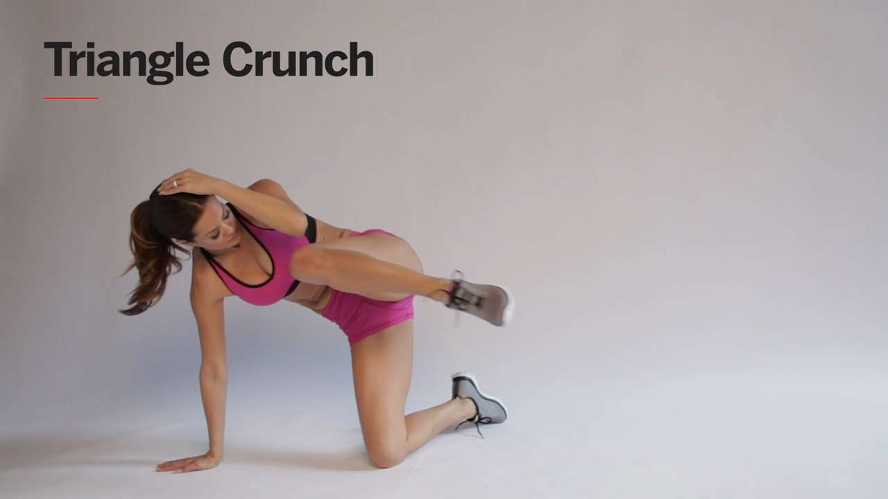 Triangle Crunch