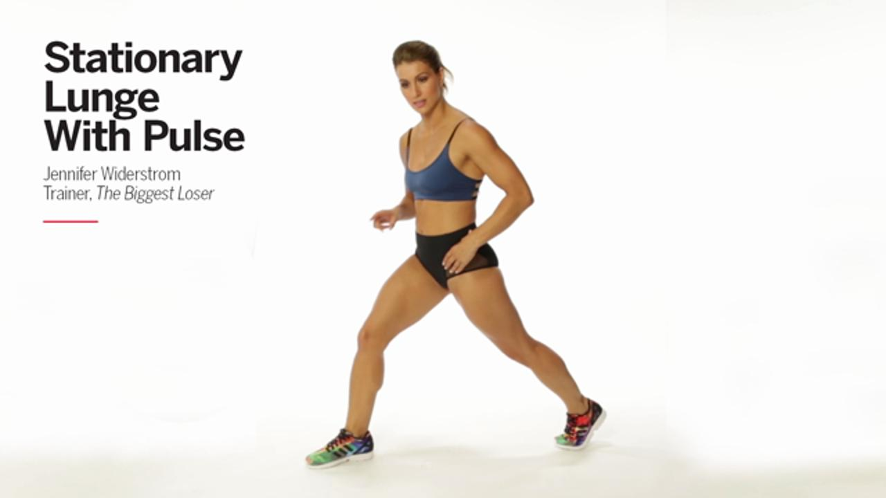 Stationary Lunge with Pulse