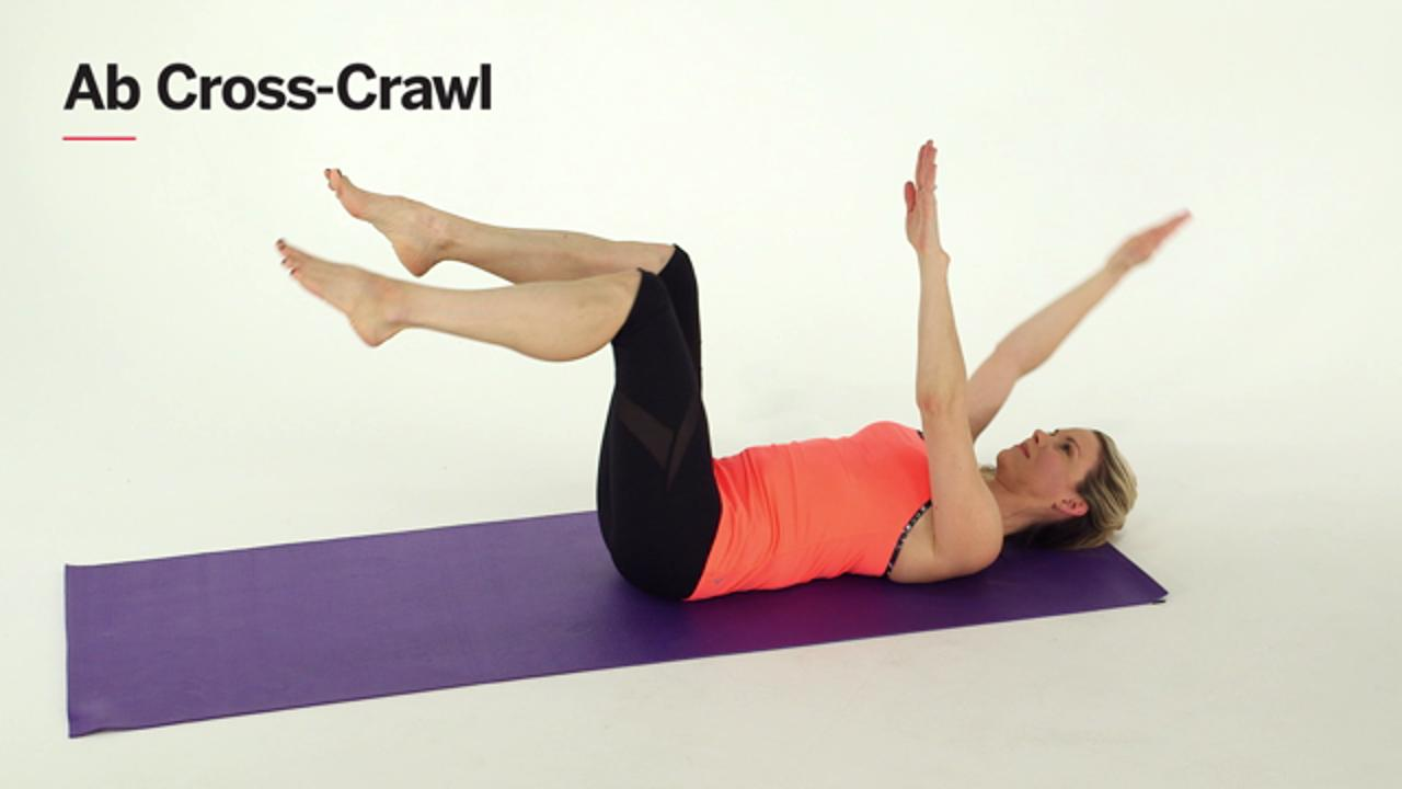 Ab-Cross Crawl