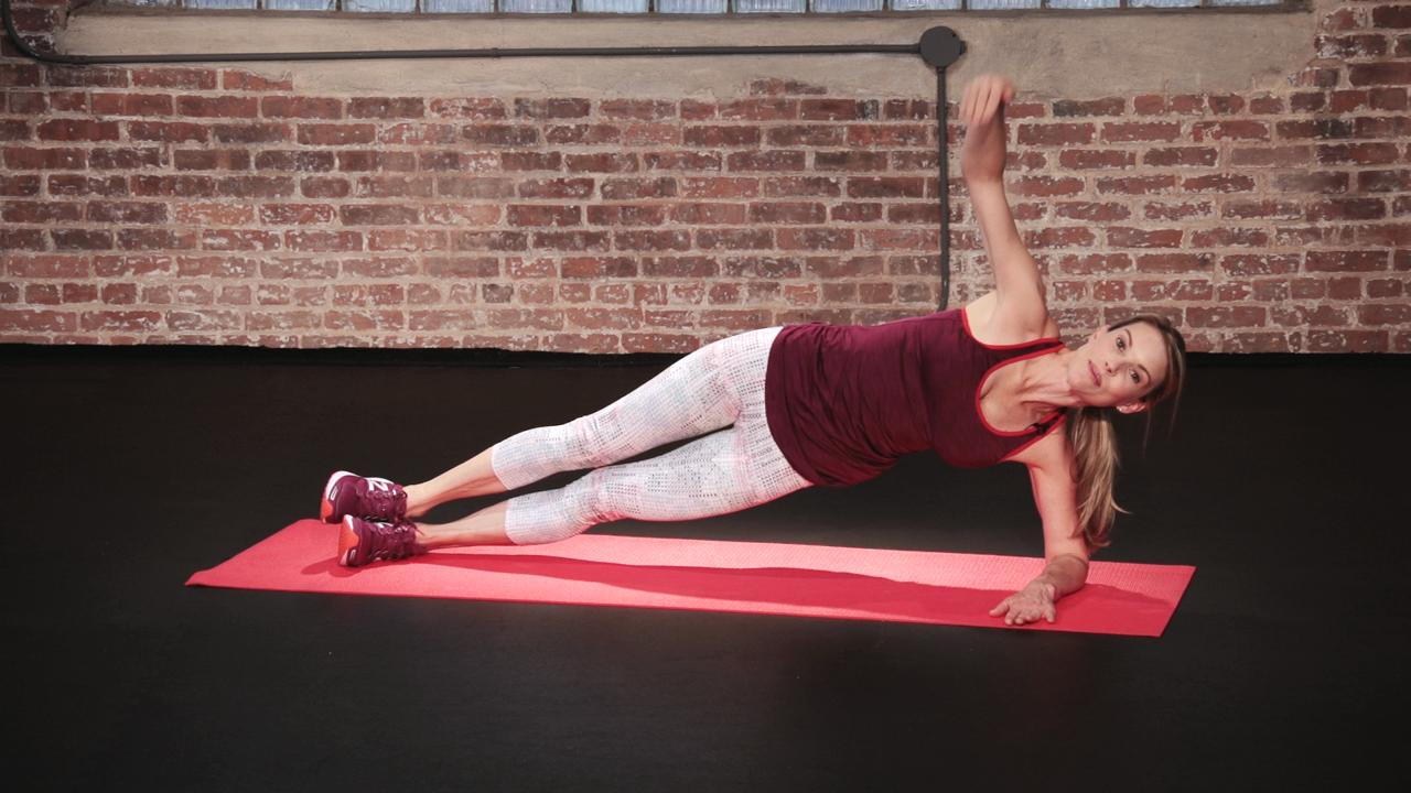 Side incline with a twist