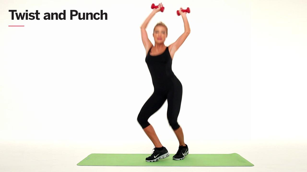 Tone your arms and shoulders