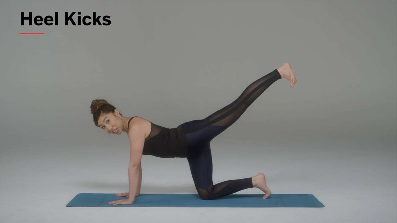 How to Do Heel Kicks for a Tight Butt