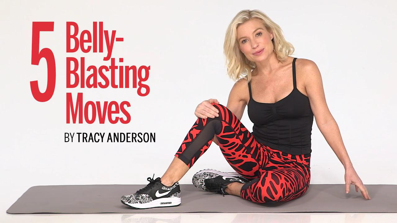 Belly-blasting moves for toned abs