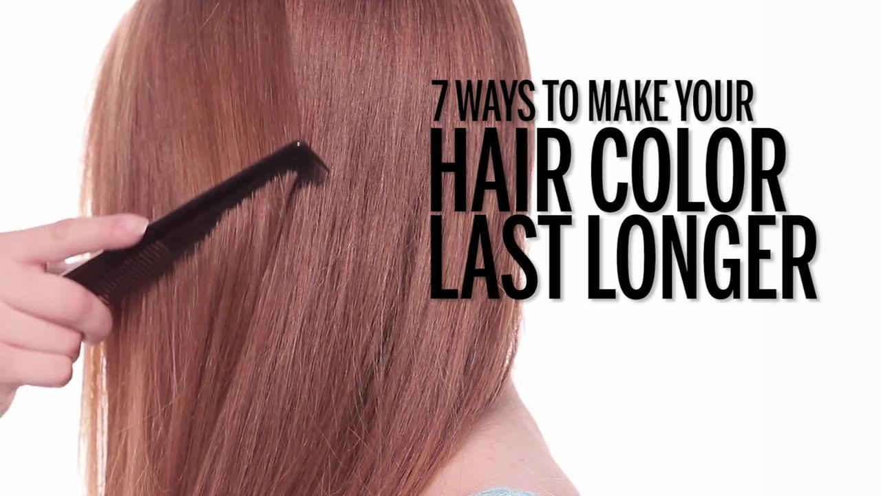 How To Make Your Hair Last Longer