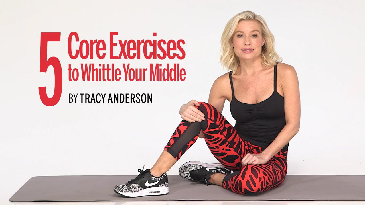 Core exercises to whittle your middle