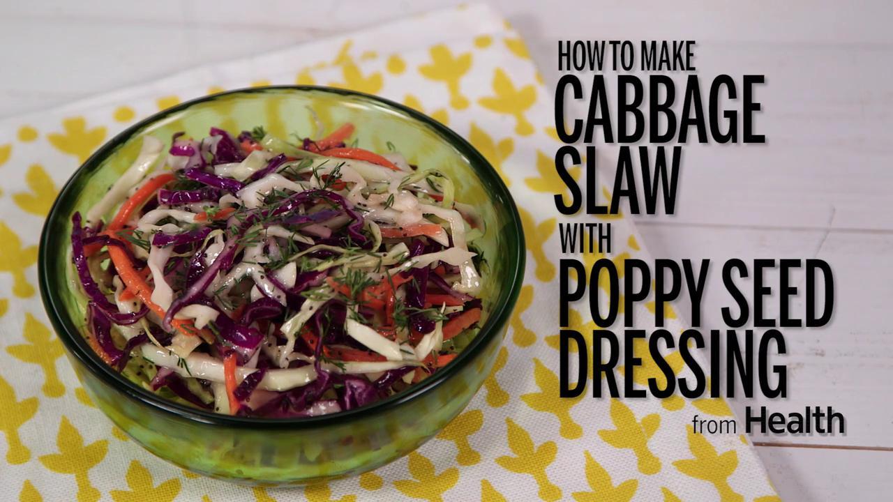Confetti Slaw with Poppy Seed Dressing