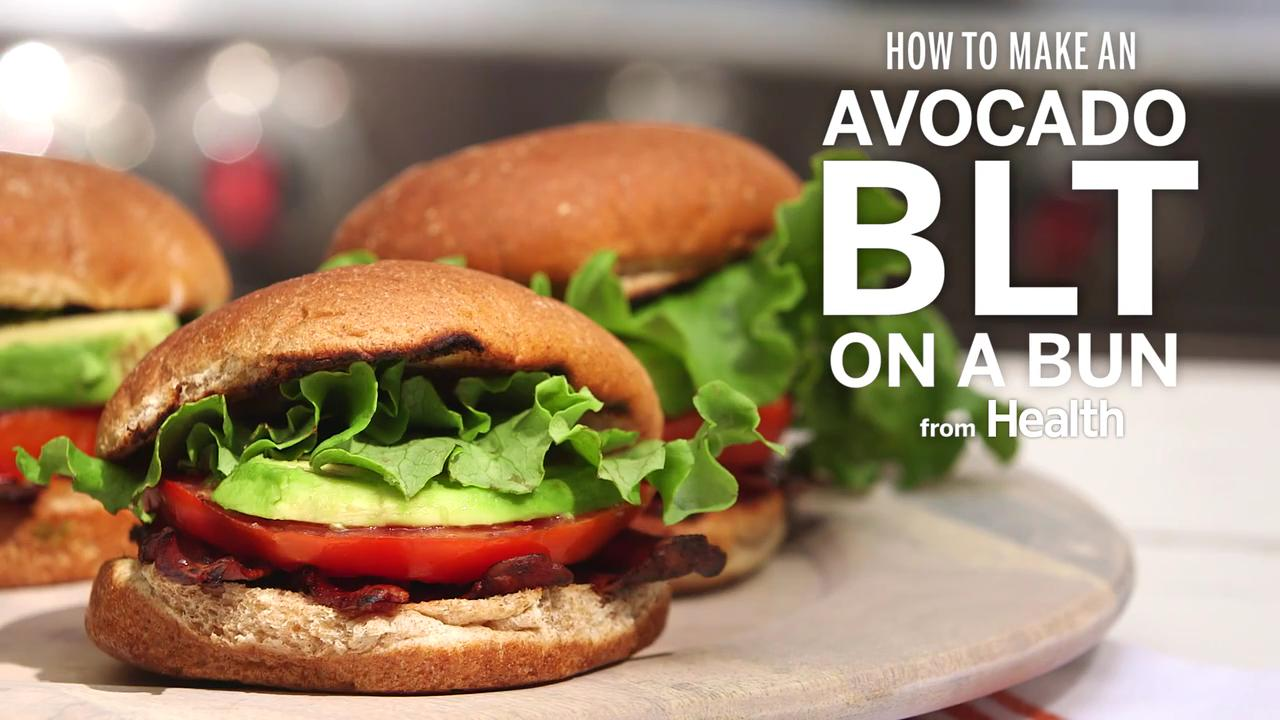 How to Make an Avocado BLT on a Bun