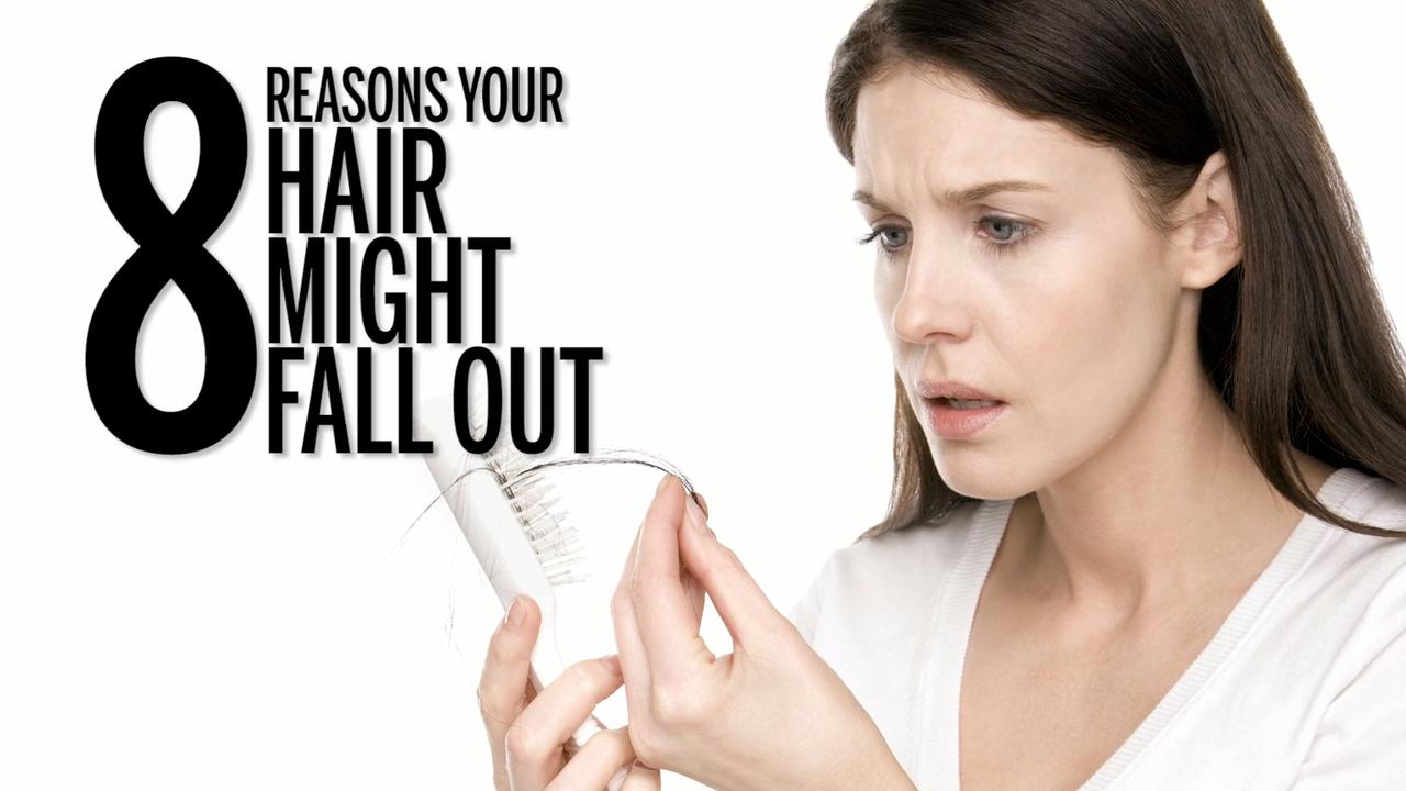 Your hair is thinning or falling out