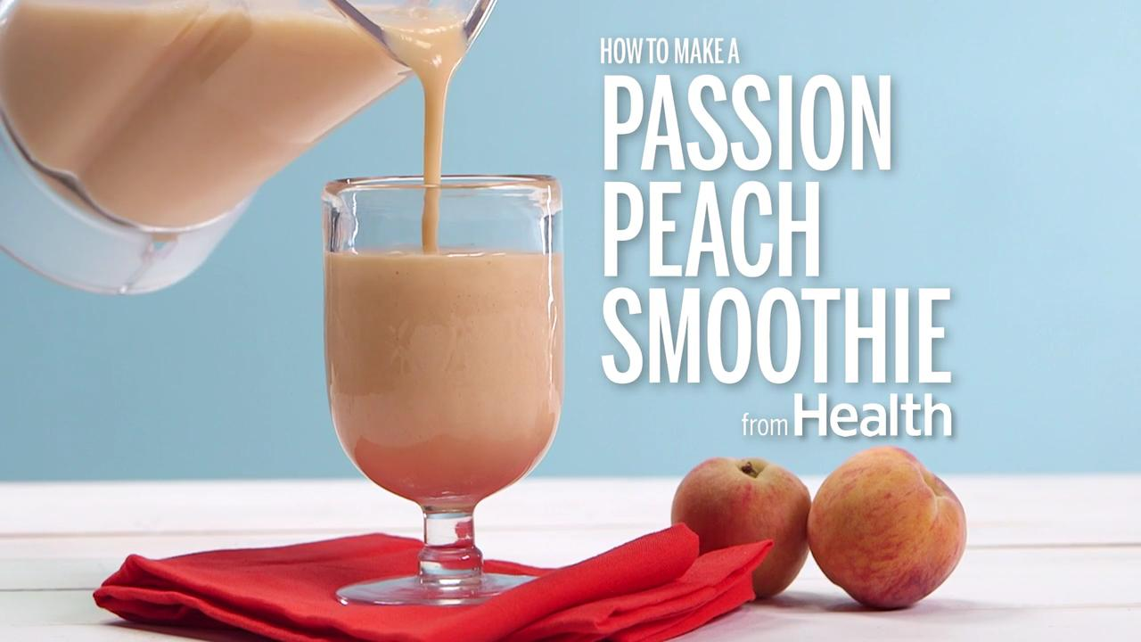 Passion-Peach Smoothie