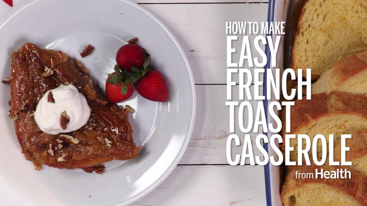Easy French toast casserole