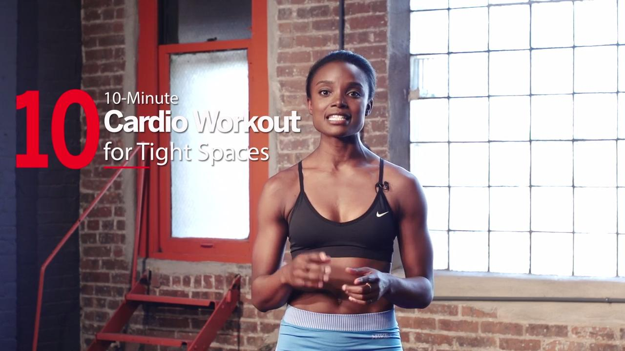 Tabata-style HIIT workout for tight spaces