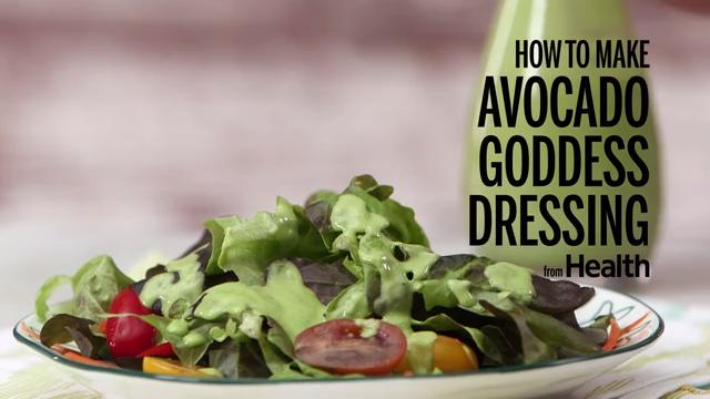 How to Make Avocado Goddess Dressing