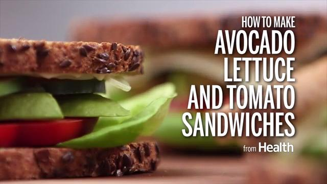 How to Make Avocado, Lettuce, and Tomato Sandwiches