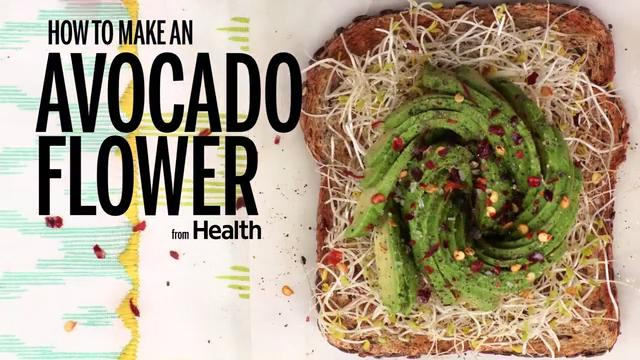 How to Make An Avocado Flower