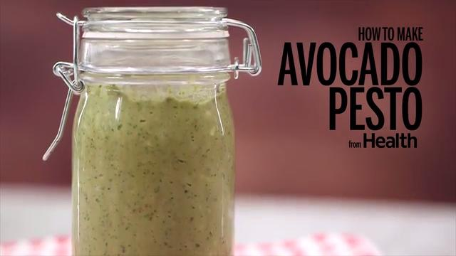 How to Make Avocado Pesto