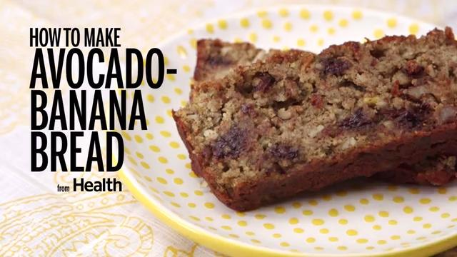 How to Make Avocado Banana Bread