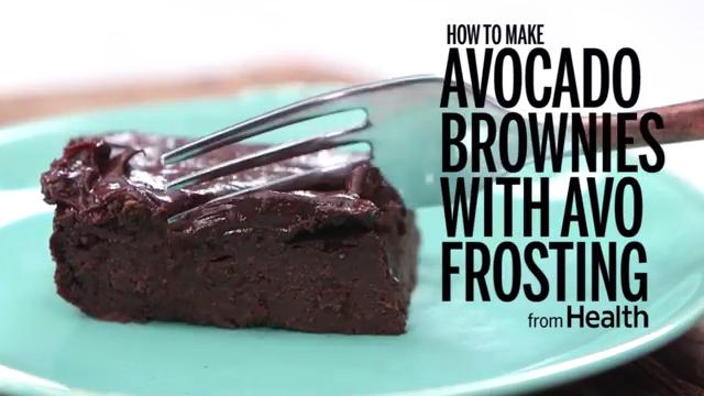 How to Make Avocado Brownies with Avo Frosting