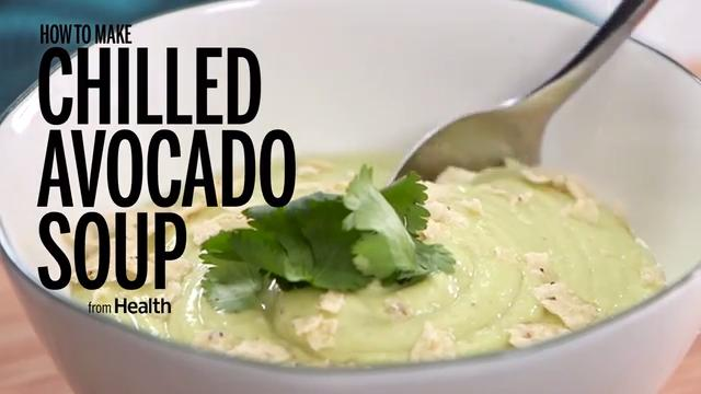 How to Make Chilled Avocado Soup
