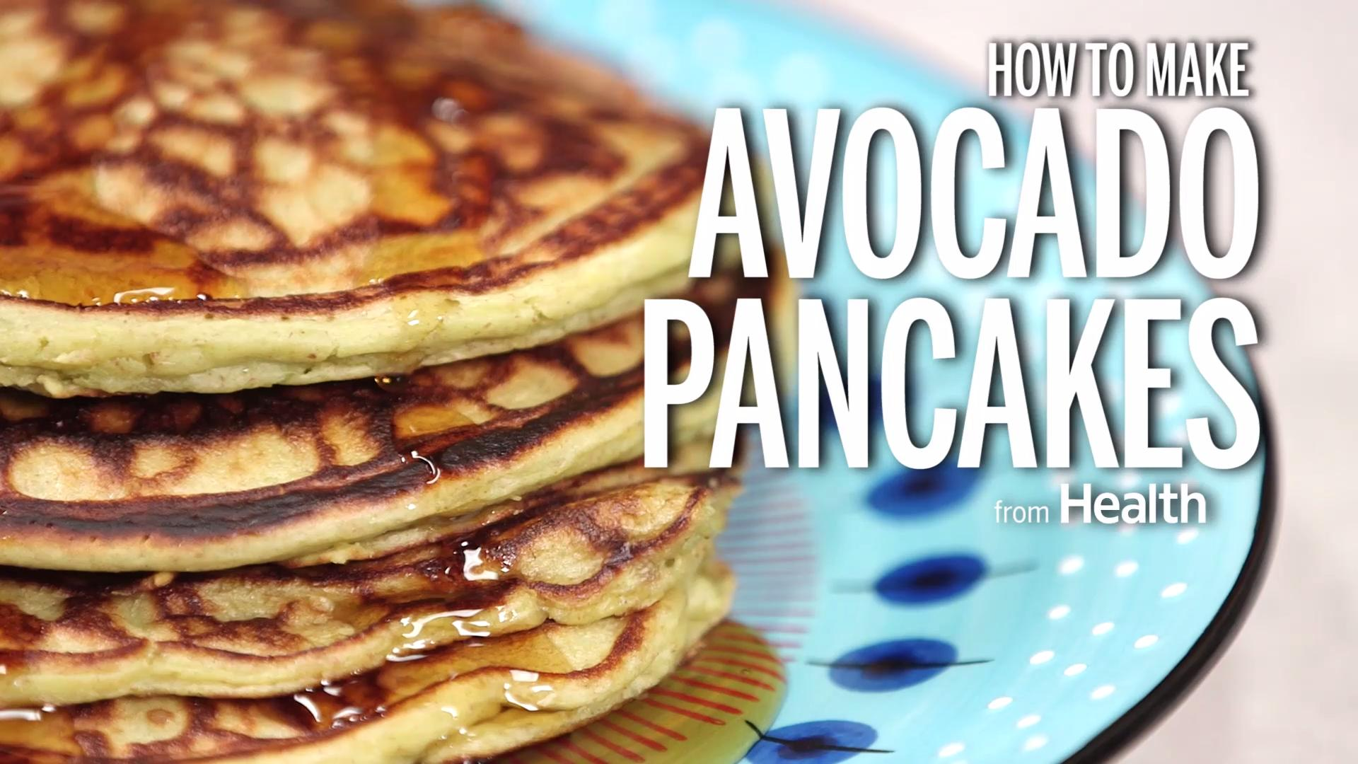 A Whole-Wheat Pancake Recipe That Uses Avocado