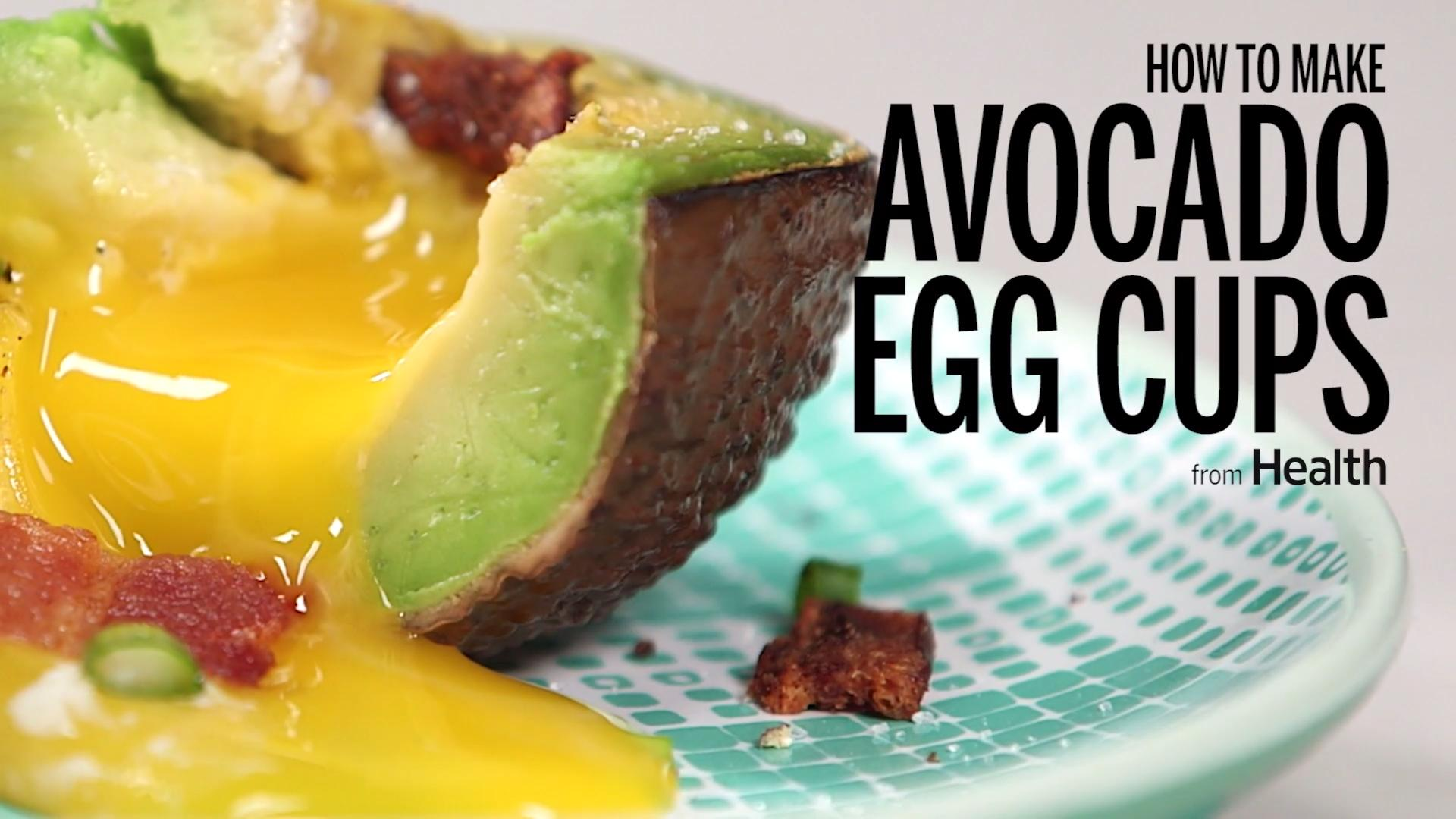 An Easy Egg-Stuffed Avocado Recipe