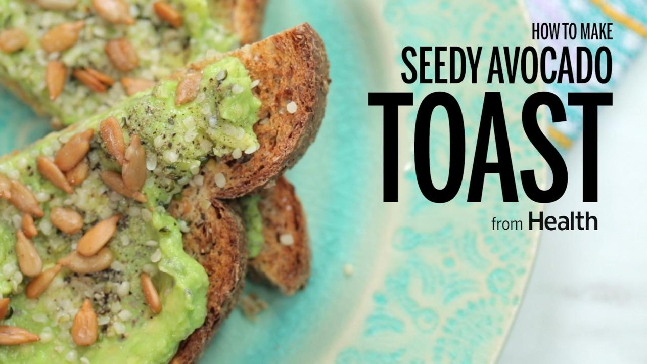How to Make Avocado Toast With Seeds
