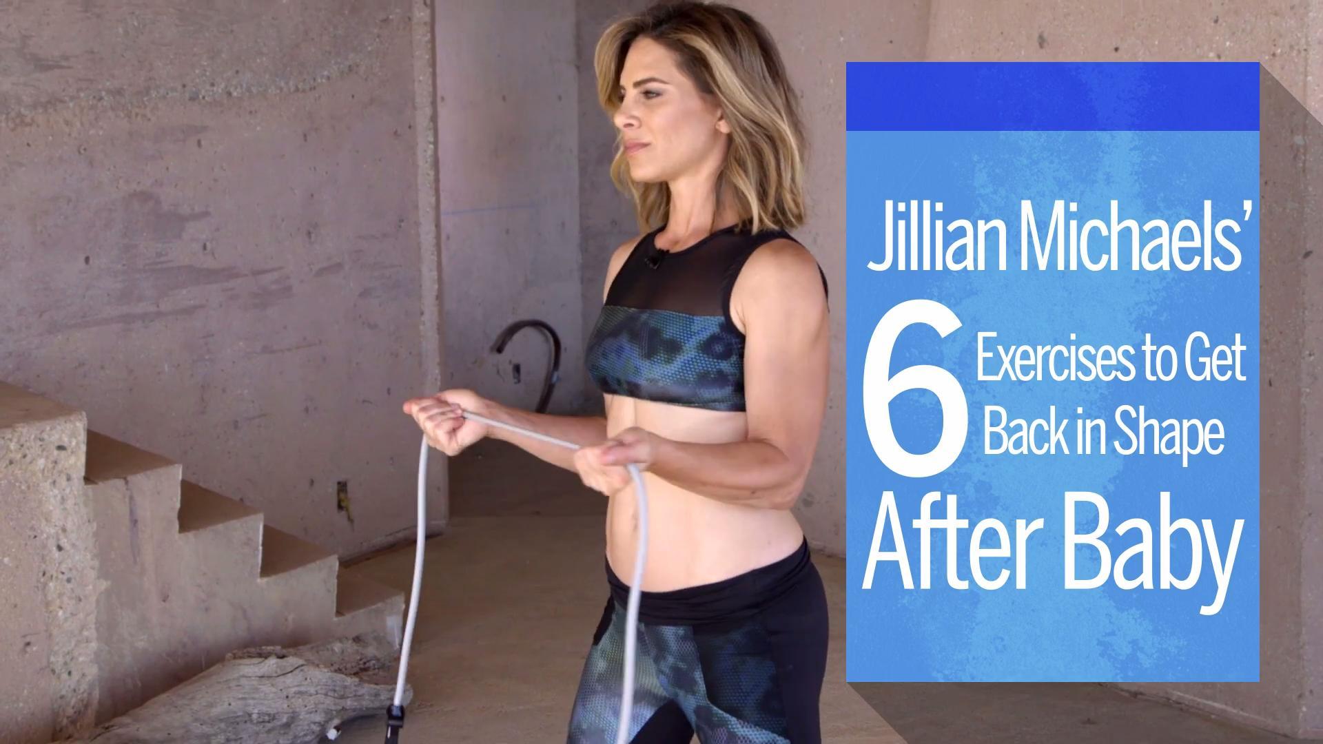 post pregnancy workout from jillian michaels health