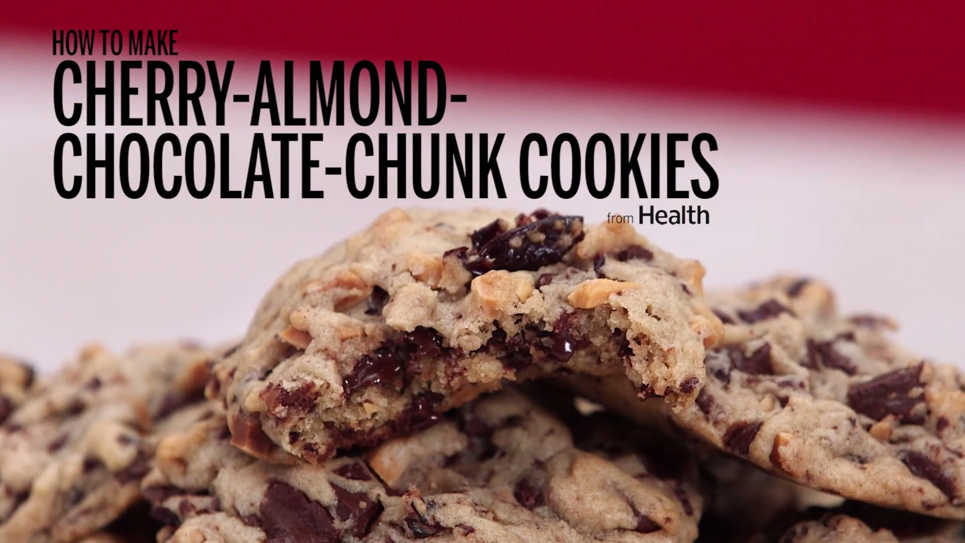 Cherry-Almond-Chocolate Chunk Cookies