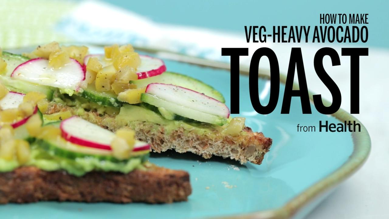 How to Make Veg-Heavy Avocado Toast