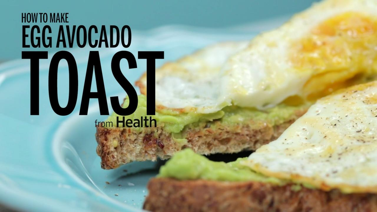 How to Make Egg and Avocado Toast
