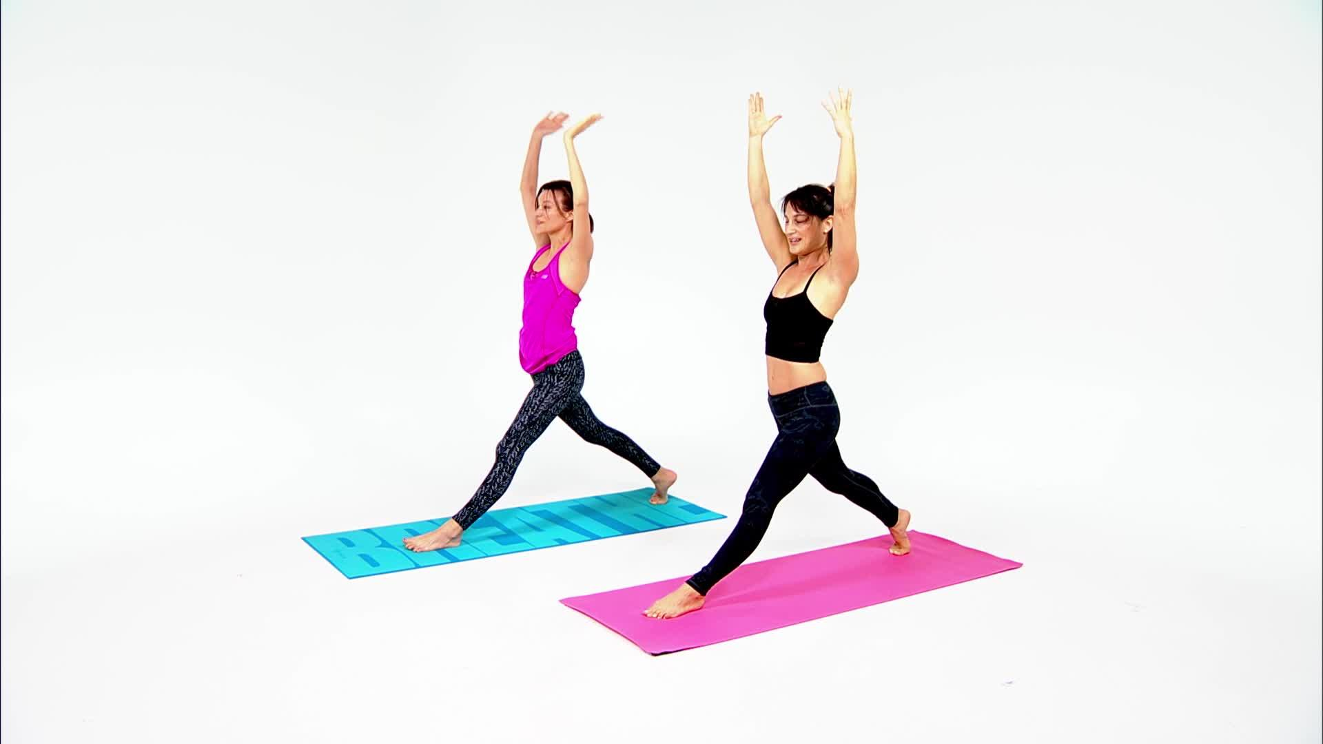 HIIT workout for yoga fans