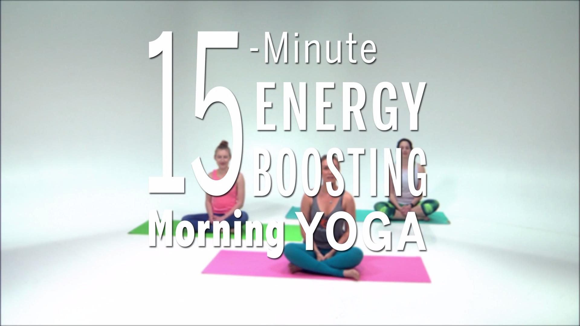 This Morning Yoga Sequence Will Boost Your Energy In 15 Minutes