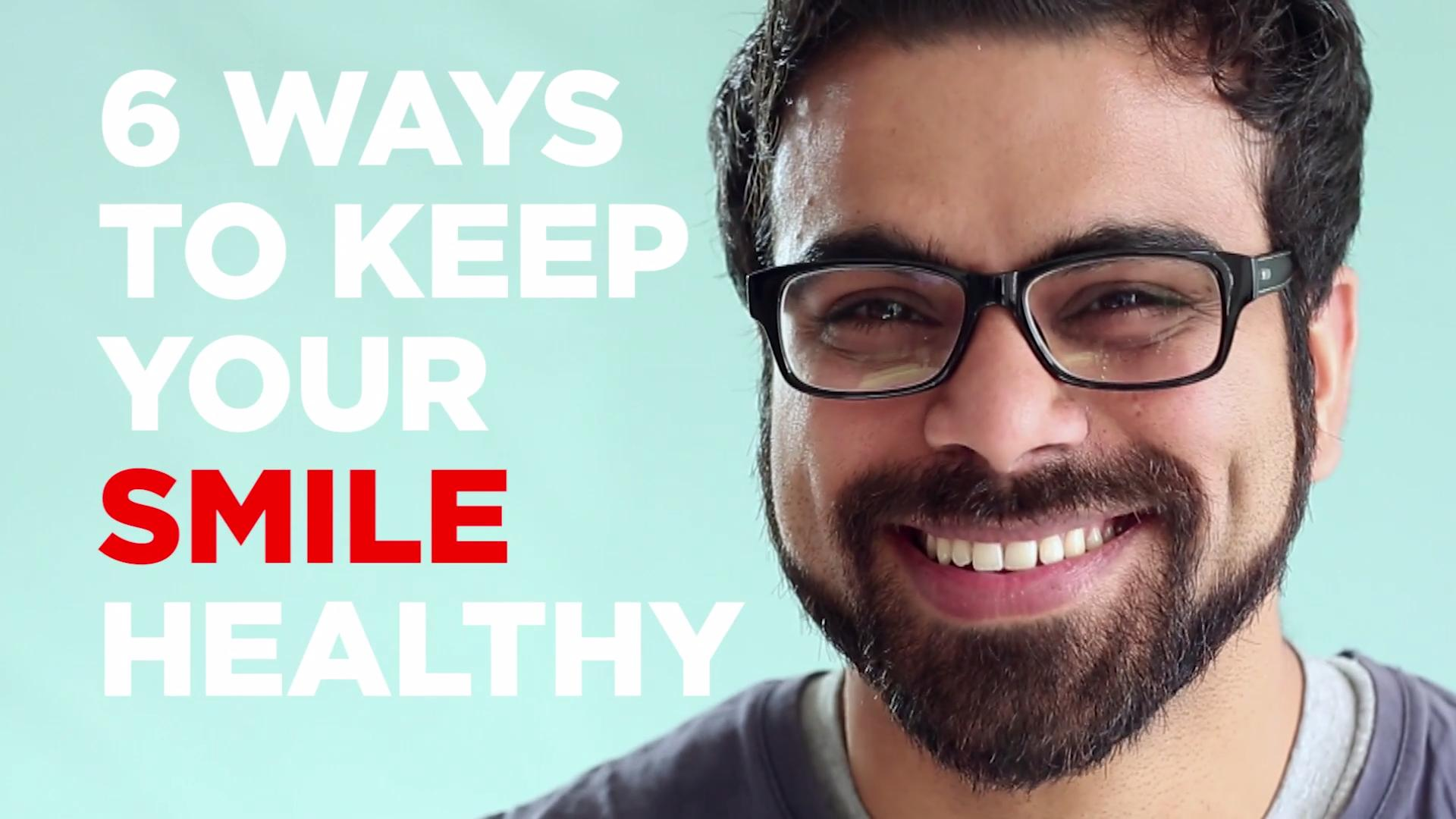 Healthy teeth, healthy smile?