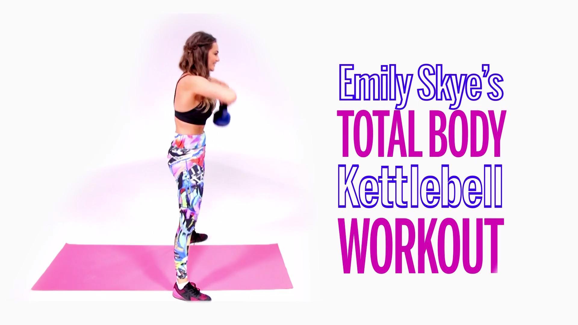 Emily Skye's Total-Body Kettlebell Workout