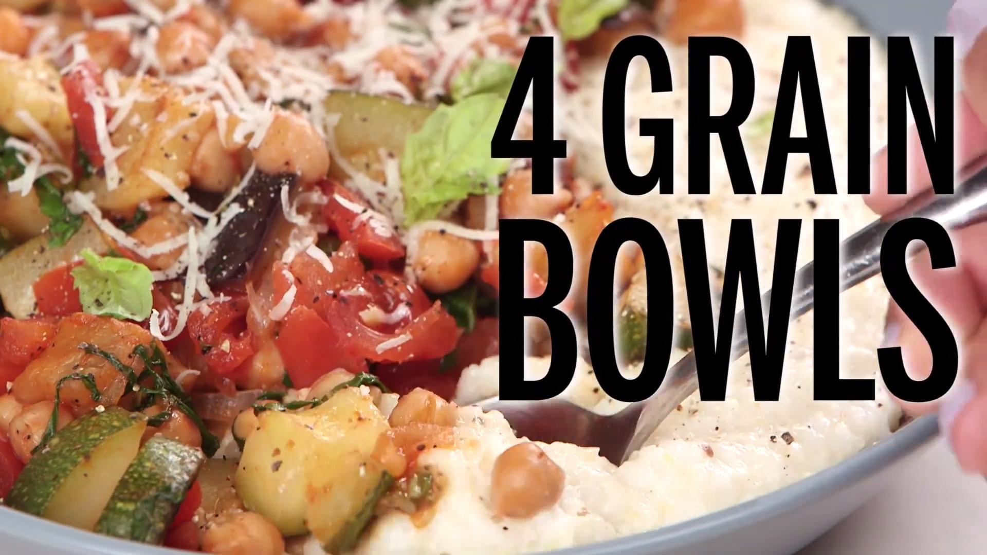 Grain bowl recipes