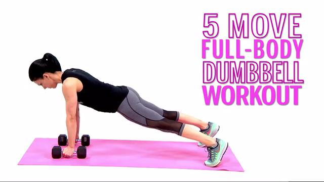 This 5-Move Dumbbell Routine Builds Strength in Every Muscle