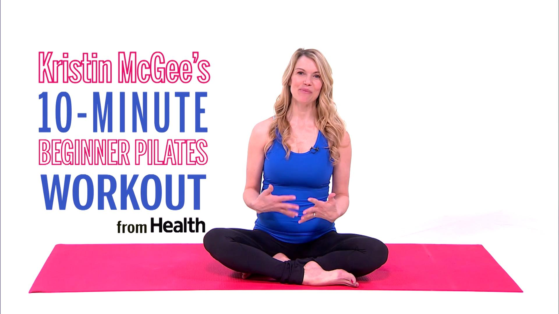 The 10-minute ab-sculpting Pilates workout