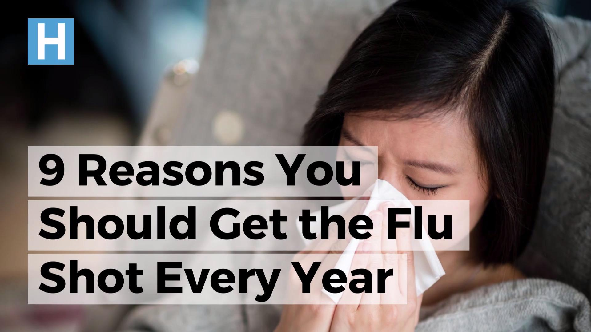 You can catch the flu from the flu shot
