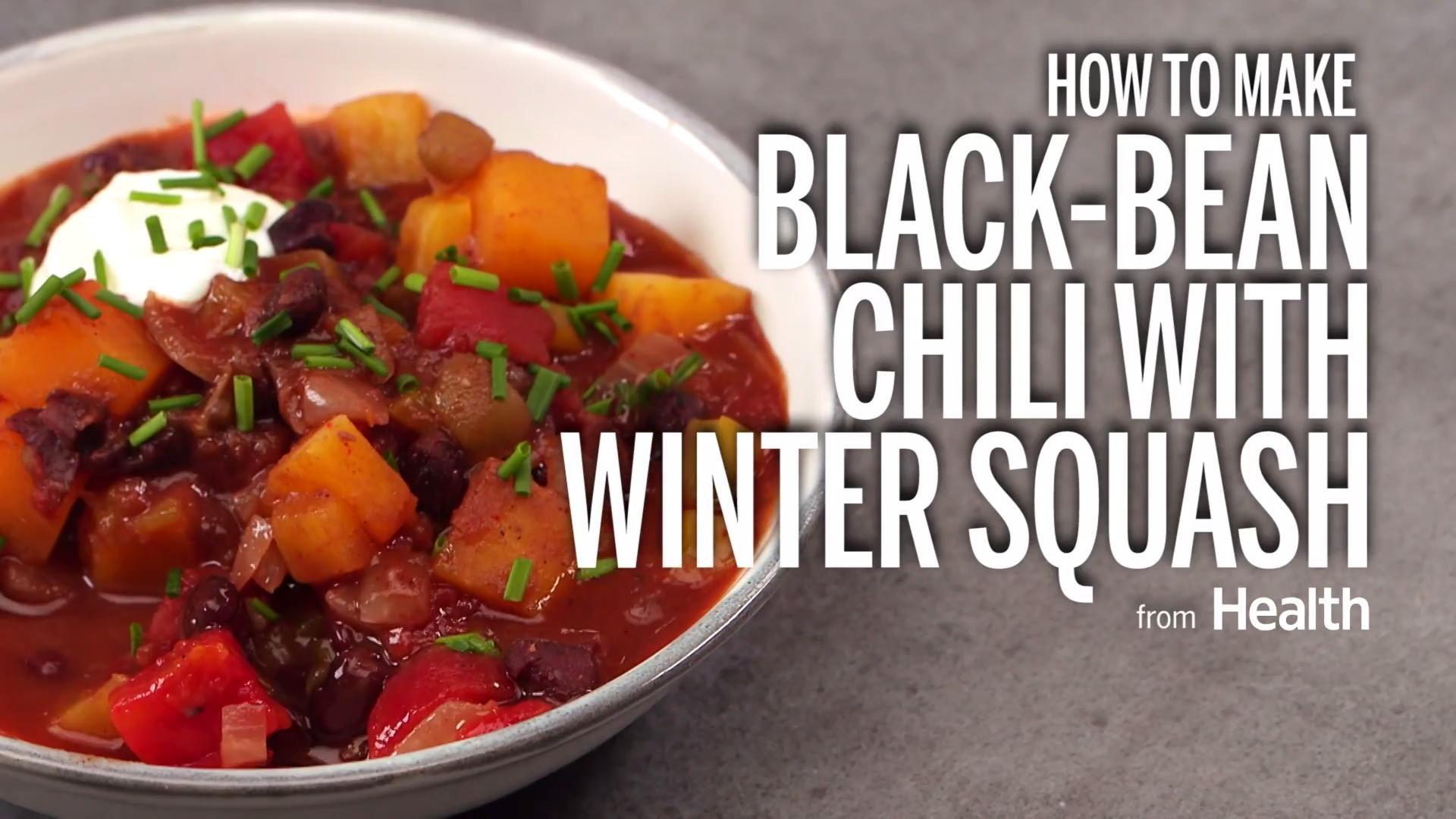 Spicy Southwestern Black Bean Chili