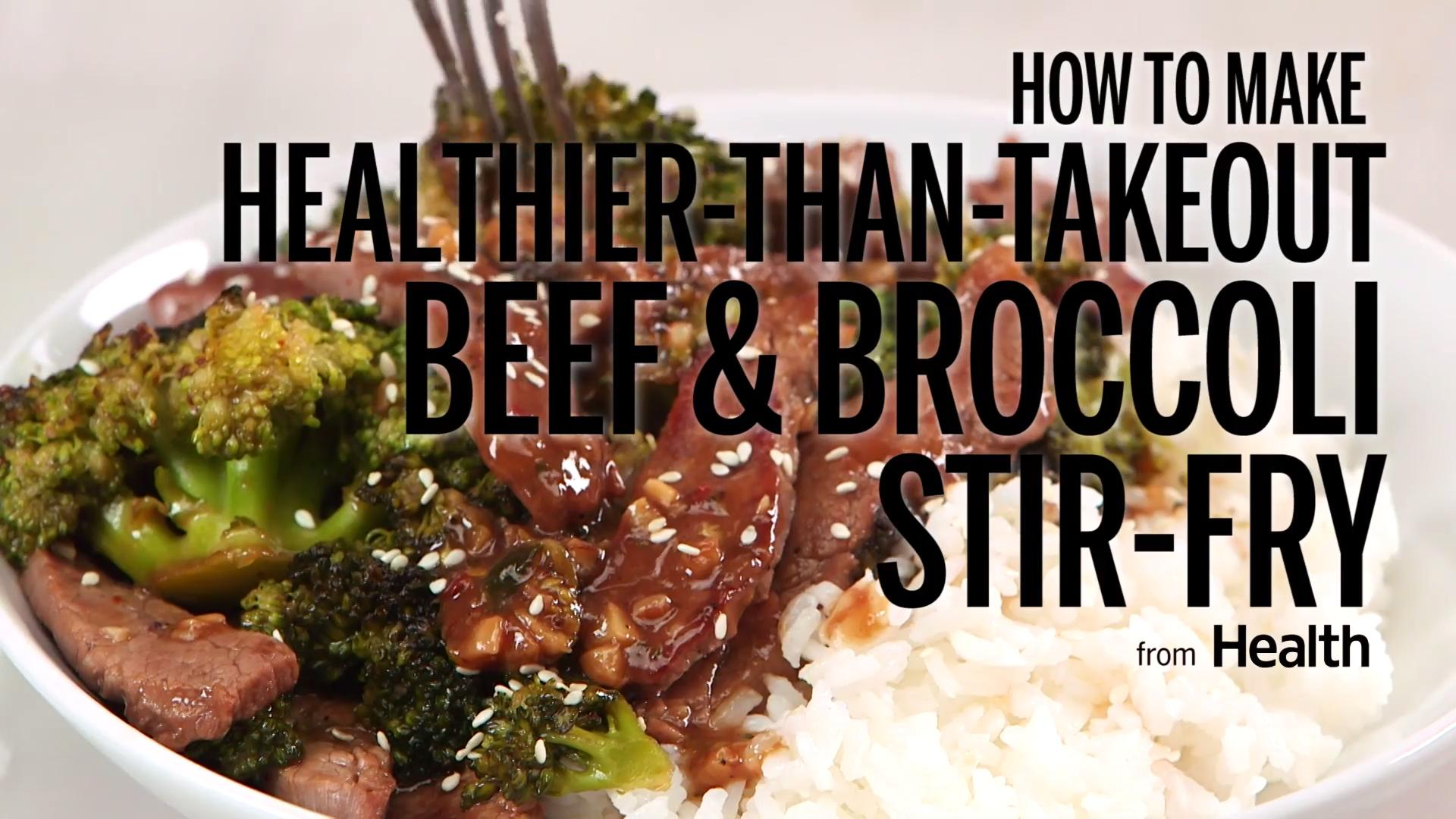 Broiled Beef and Broccoli