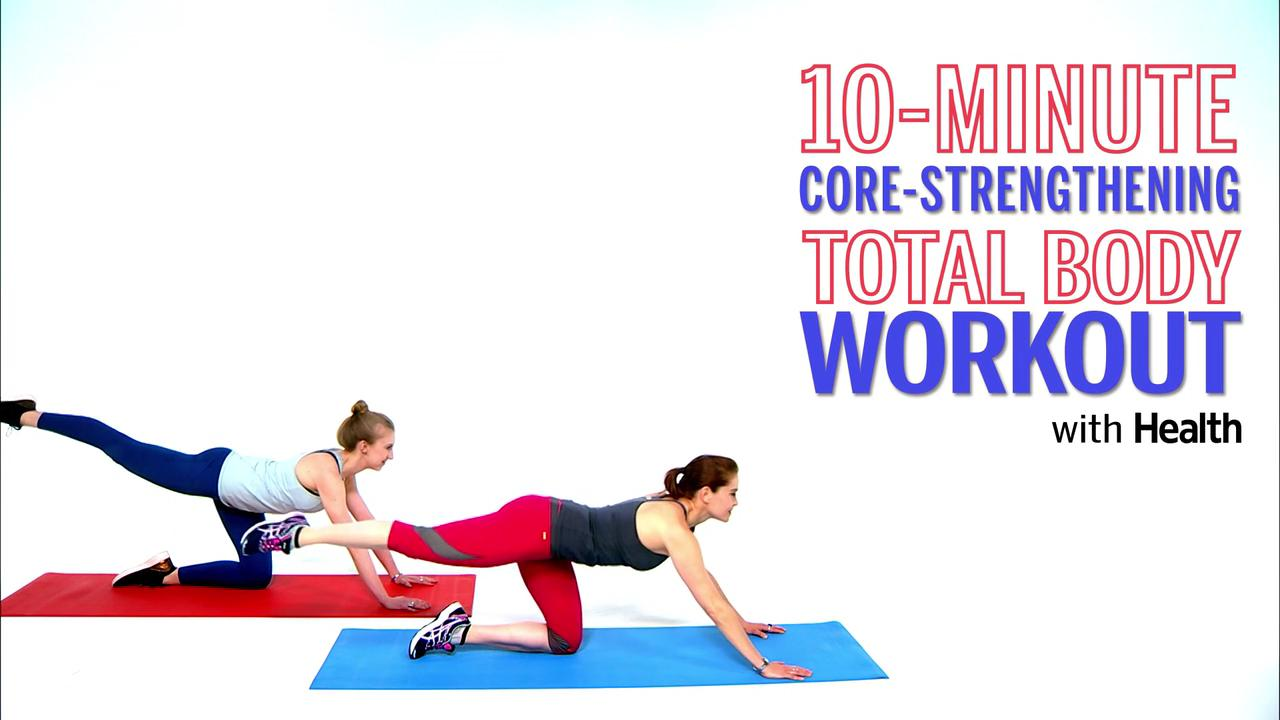 The 10-minute core-strengthening workout