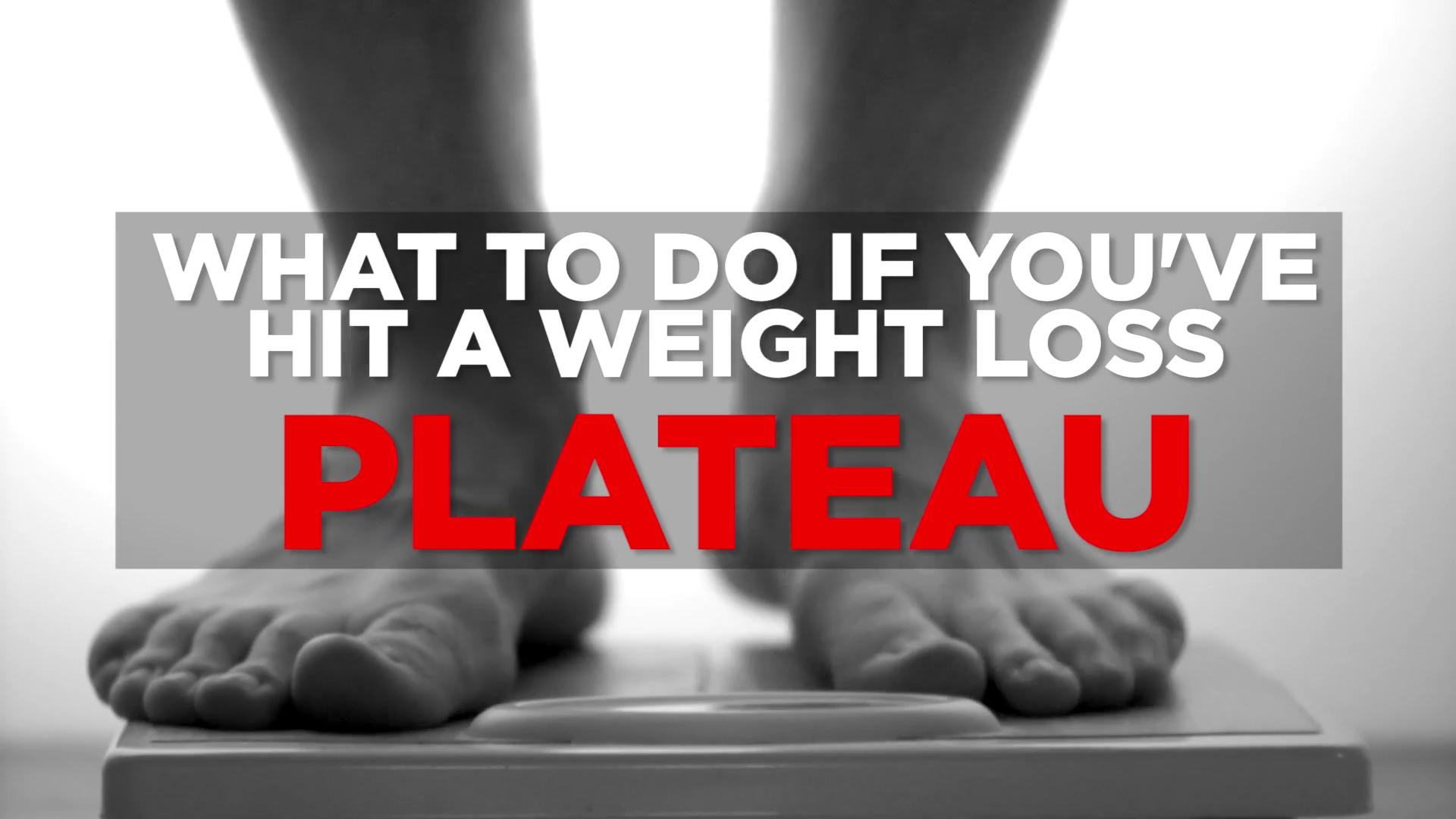 Overcome a weight loss plateau