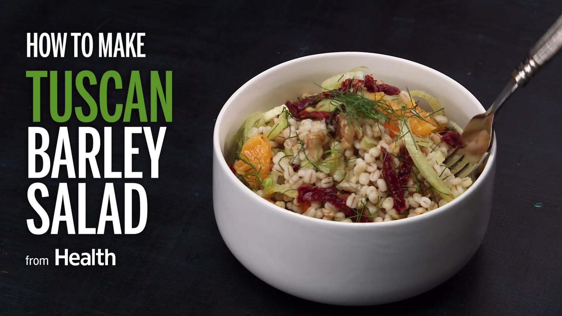 Tuscan Barley Salad