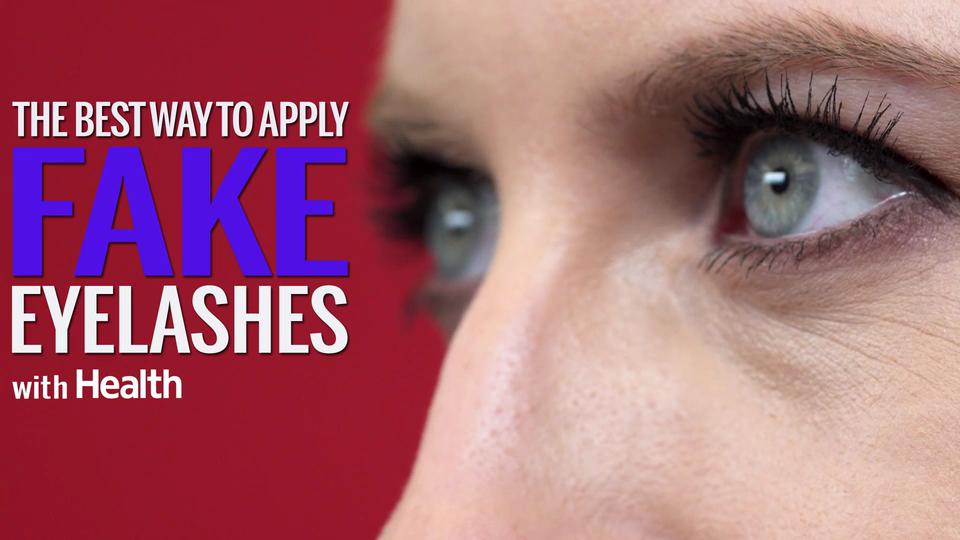 0ca9e8ba375 How to Put on Fake Lashes - Health