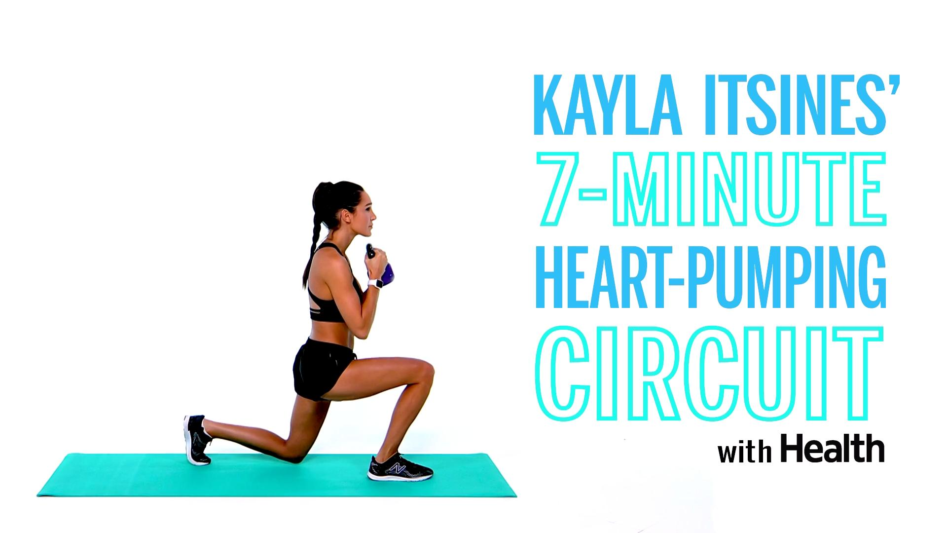 Kayla Itsines' 7-Minute Heart-Pumping Circuit