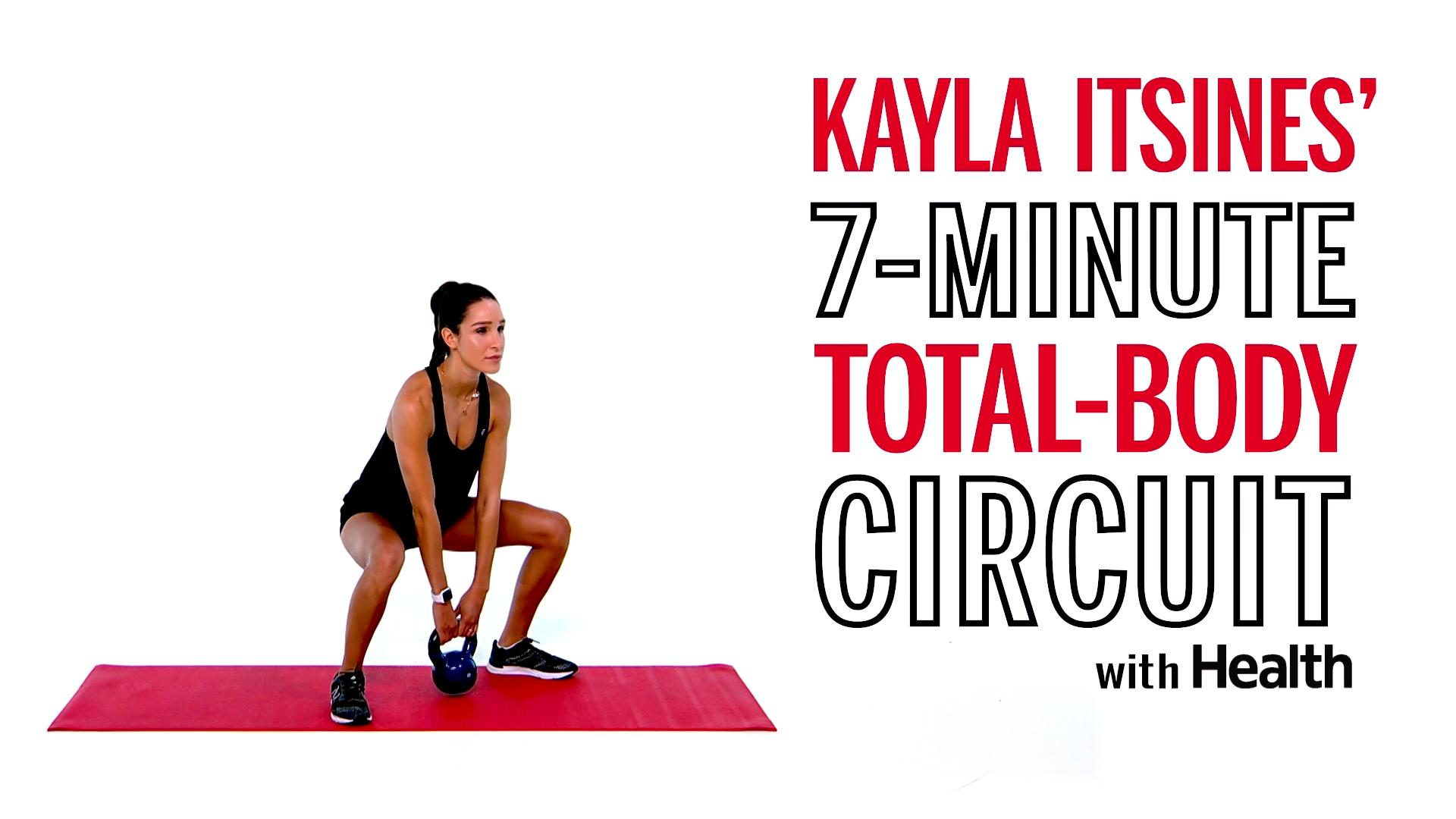 Kayla Itsines' 7-Minute Total-Body Circuit