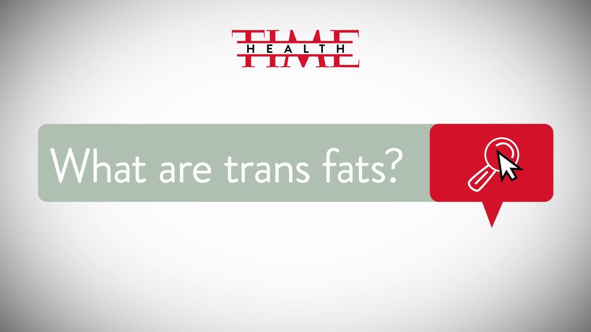 Trans fat is dangerous