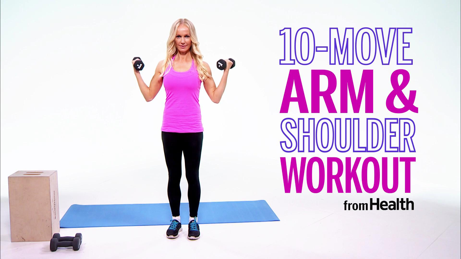 10 Weightlifting Exercises for Toned Arms and Shoulders