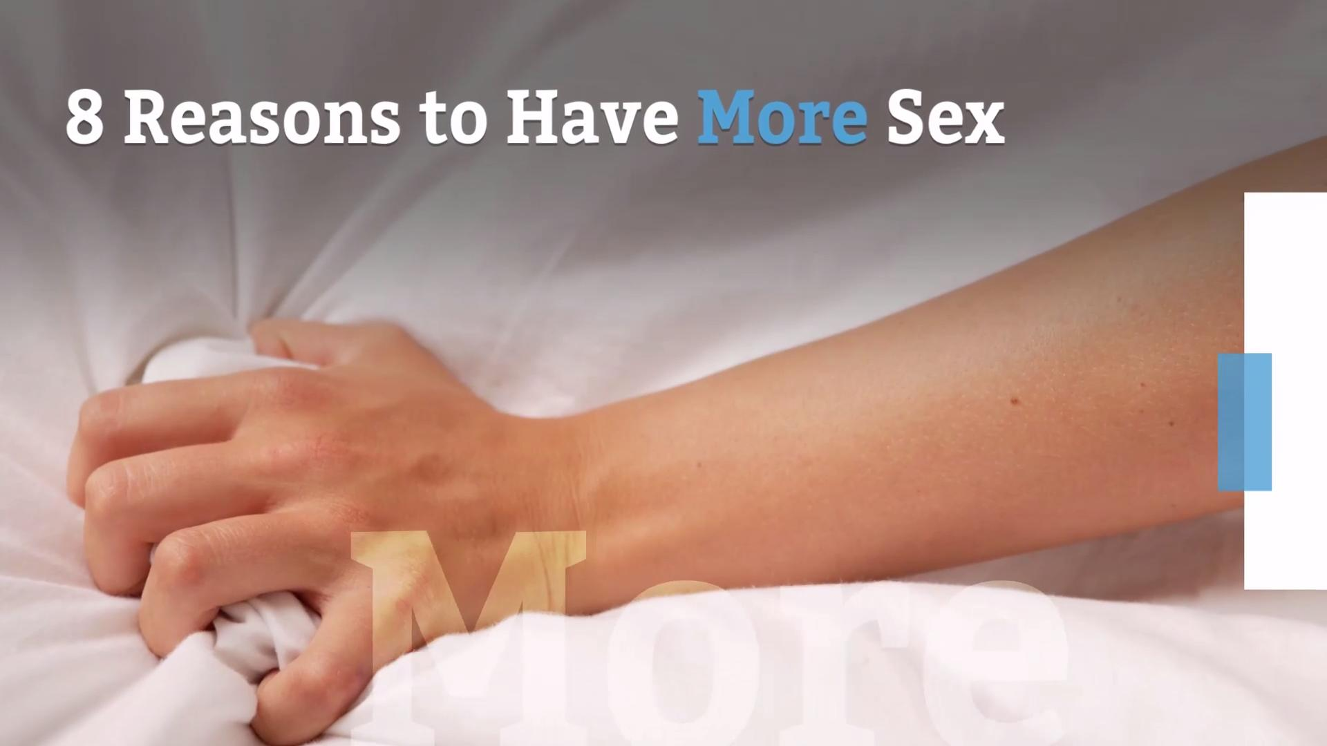 Sex helps you sleep
