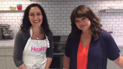 Valerie Bertinelli's favorite healthy recipes