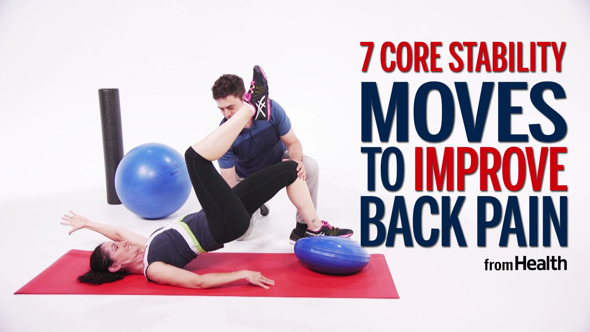 exercises for back pain pdf with pictures